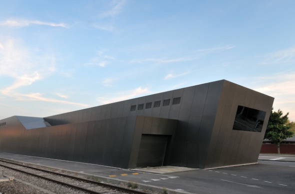 Rückfassade Richtung Bahngleise © atelier ww Architekten SIA AG