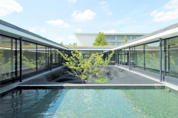 Atrium © Mark Röthlisberger, Hochbauamt Kt. Zürich