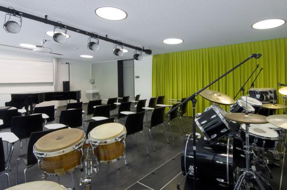 Salle de musique © Mark Röthlisberger, Hochbauamt Kt. Zürich