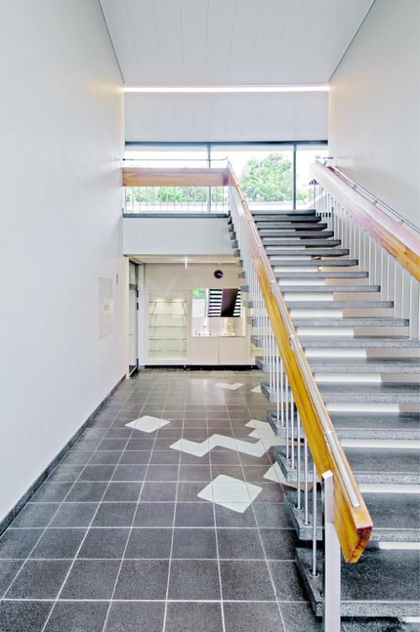 Treppenhalle © Mark Röthlisberger, Hochbauamt Kt. Zürich