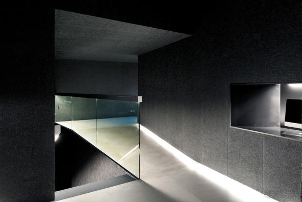 Espace de liaison, partie transformée © Thomas Jantscher