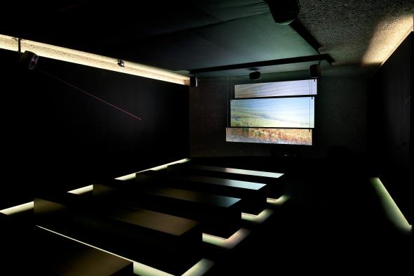 Projektionsraum © Thomas Jantscher
