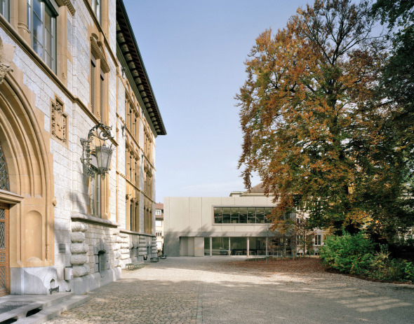 vue côté parc © Schneider & Schneider Architekten