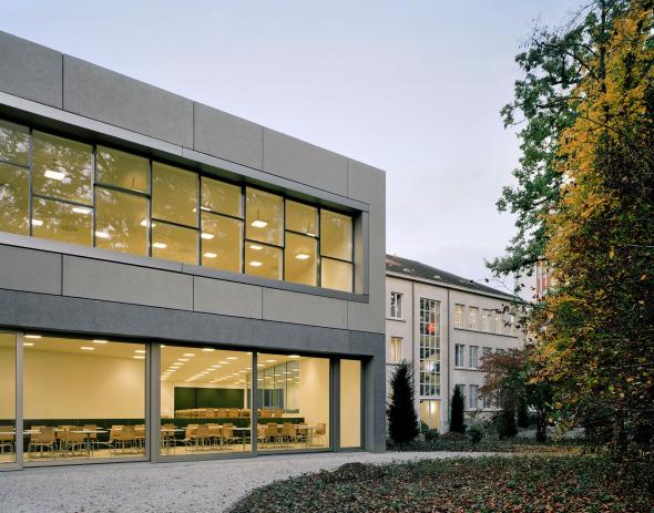 façade ouest © Schneider & Schneider Architekten