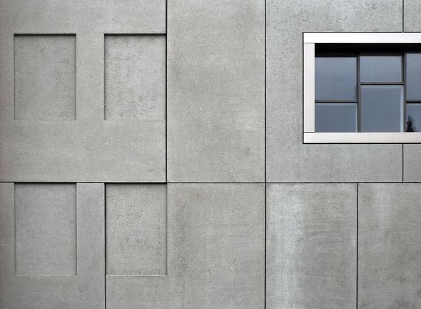 détail façade © Schneider & Schneider Architekten