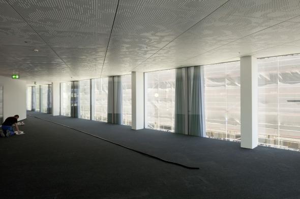 Innenansicht der Bürofläche