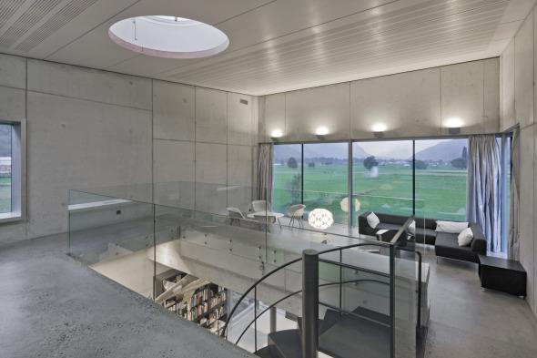 Galerie Obergeschoss © Thomas Andenmatten, Brig