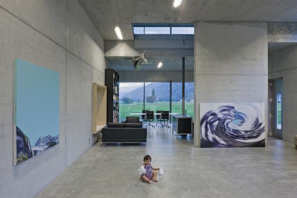 Atelier Erdgeschoss © Thomas Andenmatten, Brig