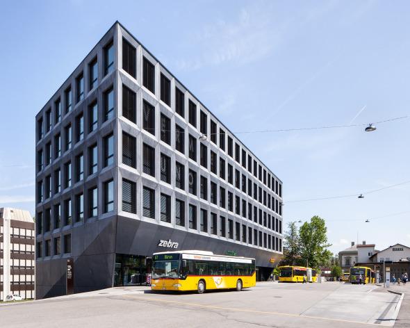 Fassade Busbahnhof © Roman Keller