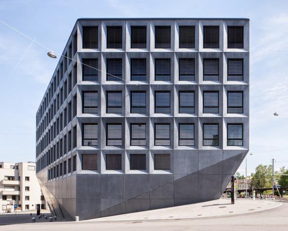 Fassade Soodweg © Roman Keller
