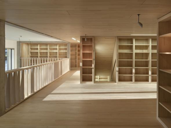 Archives de l'Etat, étage supérieur © Alexander Gempeler