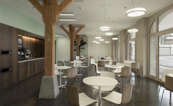 Zeughaus Cafeteria © Alexander Gempeler