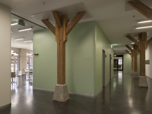 Zeughaus Korridor Erdgeschoss © Alexander Gempeler