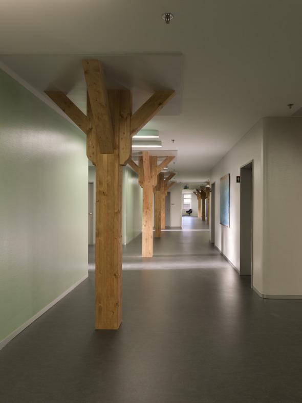Arsenal, couloir, étage supérieur © Alexander Gempeler