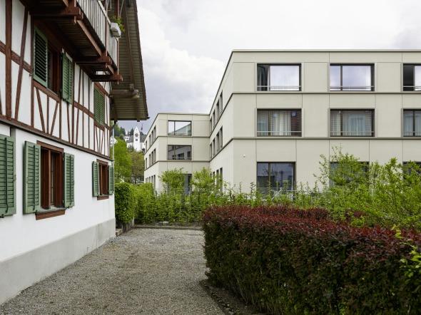 Nachbarschaftlicher Kontext Foto Georg Aerni ©  Georg Aerni