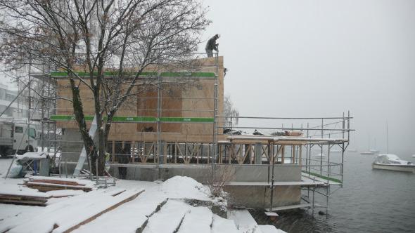 Ansicht Südfassade  © Bauzeit