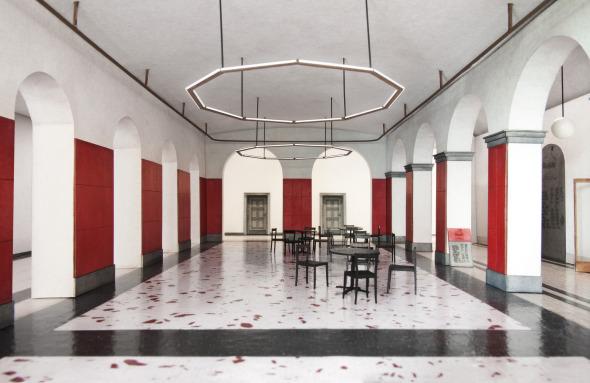 Modellbild Foyer, EG, A1 © Stefan Roos