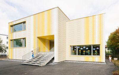 Aufstockung und Sanierung Kindergarten Spittel