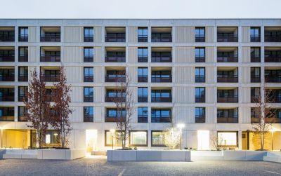 Wohn- und Gewerbehaus Glattpark Mitte