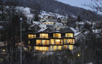 Wohnhaus Trottenstrasse Ennetbaden