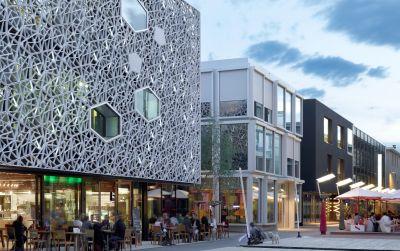 Flon Pépinières Nouveau bâtiment de culture, de formation et de loisirs