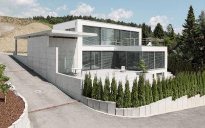 EFH Lohn-Ammannsegg – puristische Villa mit Weitsicht