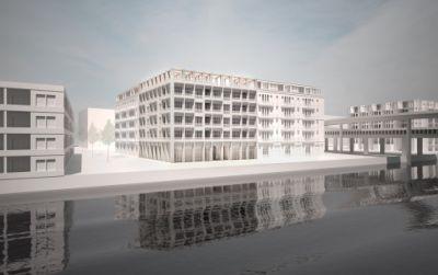 Bâtiment d'habitation à Marseille