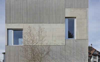 Roh und direkt - Wohnhaus in Uster