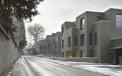 Neubau Wohnungen im Patumbah-Park, Zürich