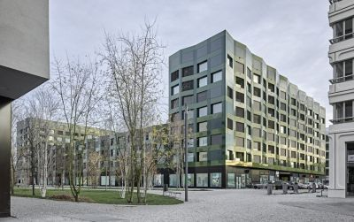 Wohnhaus am Rietpark, Baufeld C