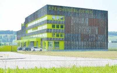 Neubau Kooperative Speicherbibliothek Büron