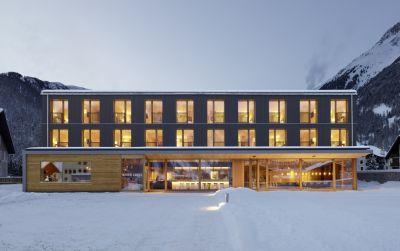 Hotelneubau Bever Lodge