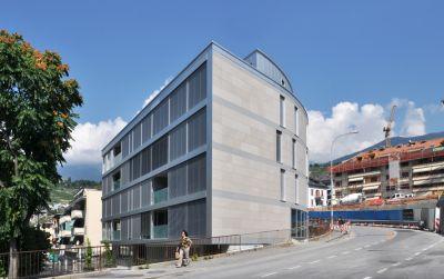 Immeuble Solaris - immeuble de logement collectif Minergie P
