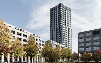 Limmat Tower, Limmatfeld, Baufeld E, Dietikon