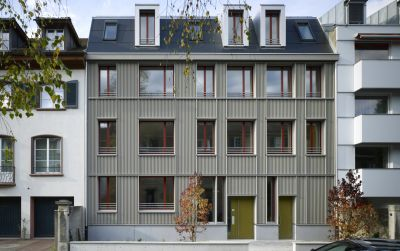 Neubau Wohnhaus Aescherstrasse 12, Basel