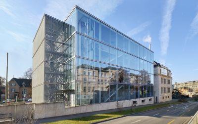 ZHAW Winterthur, Umbau Bibliothek
