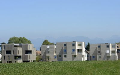 Quartier Grand Pré, Crans-près-Céligny VD Suisse