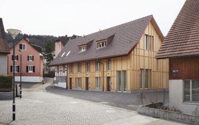 Ersatzneubau Scheune & Sanierung Bauernhaus