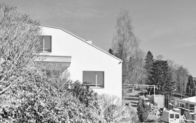 Neubau Einfamilienhaus mit Einstellhalle