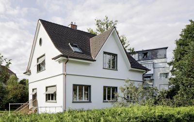 Umbau und Aufstockung Einfamilienhaus in Münchenstein