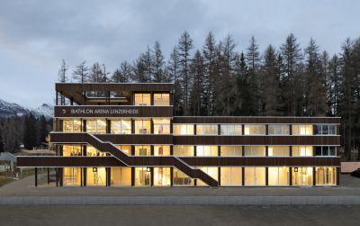 Nordic House, Biathlon Arena Lenzerheide