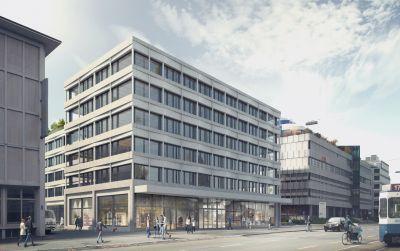 Büro- und Gewerbehaus, Zürich West