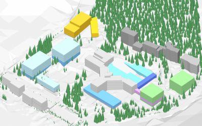 Areal Hochgebirgsklinik Davos