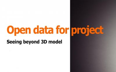 Open data for project - Seeing beyond 3D model