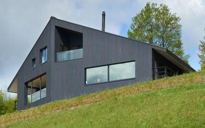 Maison contemporaine Minergie-P