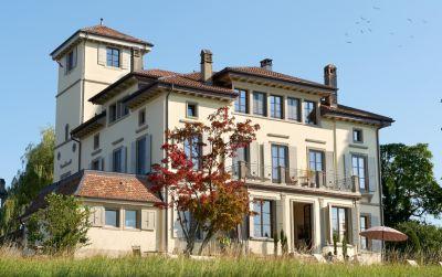 Rénovation du château de La Corbière avec aménagement d'un hôtel avec restaurant