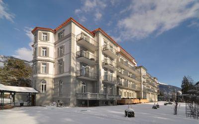 Gebäudehüllensanierung / Restaurierung Waldhaus Flims Alpine Grand Hotel & Spa