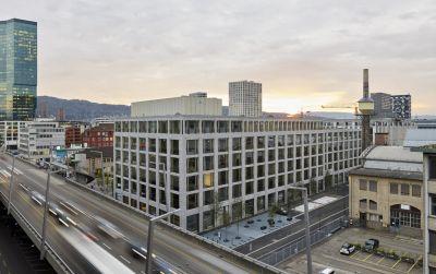 Immeuble administratif, Schiffbauplatz