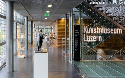 Foyer im Kunstmuseum Luzern