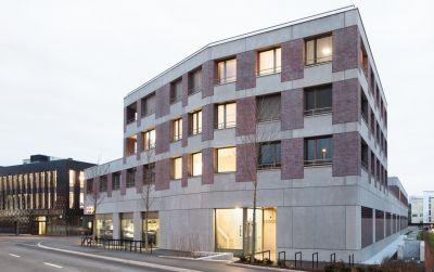 Überbauung Steinhausen - WOHNBAU Dreiklang
